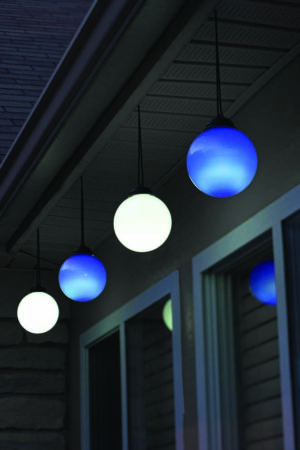Illuminated Patio Globes