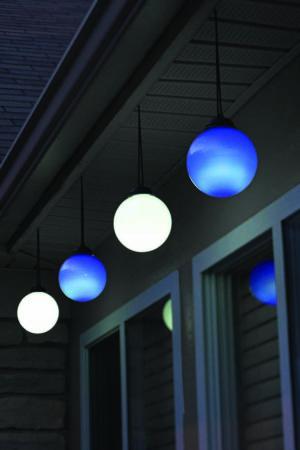 Illuminated Patio Globes